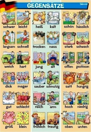 Plansze Dydaktyczne Do Nauki Języka Niemieckiego Eduskleppl