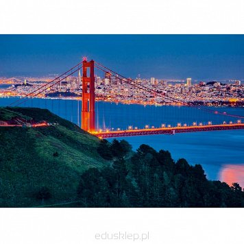 Puzzle 1000 Elementów Most San Francisco Ravensburger