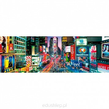 Puzzle 1000 Elementów Times Square Panorama Clementoni