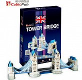 Puzzle 3D Most Tower Bridge Cubicfun
