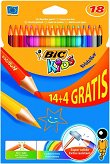 Kredki bic evolution 18 kol.