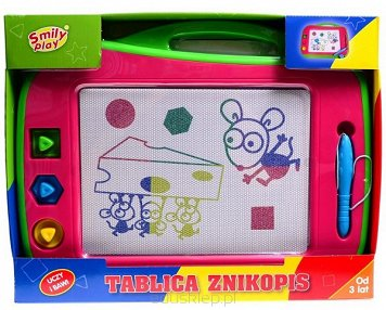Tablica Znikopis Kolorowa Smily Play