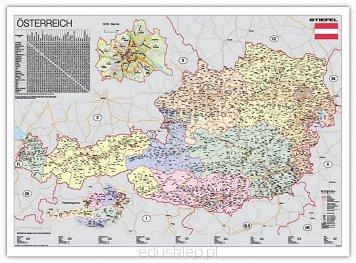 Austria Mapa Polityczna Jezyk Niemiecki