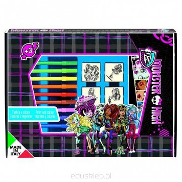 Pieczątki Monster High Box Multiprint