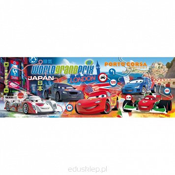 Puzzle 1000 Elementów Cars 2 Panorama Clementoni