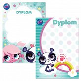 Dyplom A4 Littlest Pet Shop Starpak
