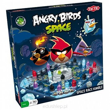 Gra Angry Birds Space Race Kimble Tactic