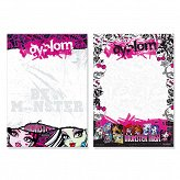 Dyplom A4 Monster High Starpak