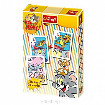 Karty Piotruś Tom & Jerry Trefl
