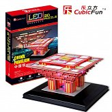 Puzzle 3D China Pawilon Cubicfun