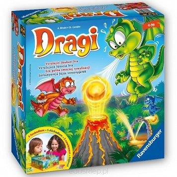 Gra Dragi Dragon Ravensburger