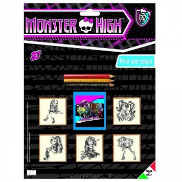 Pieczątki Monster High Multiprint