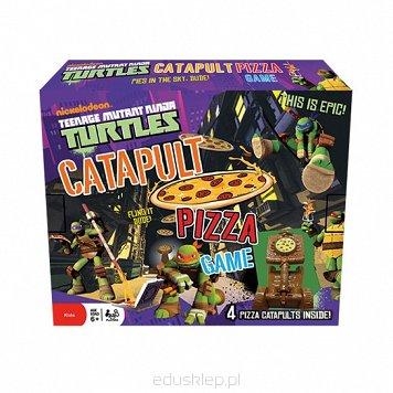 Gra Turtles Catapult Pizza Tactic