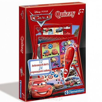 Gra Quizzy Cars 2 Clementoni
