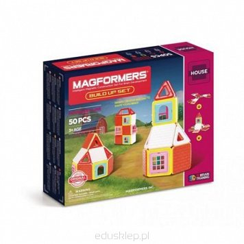 Magformers House Build Up Set 50 el.