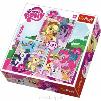 Puzzle 3W1 My Little Pony Trefl