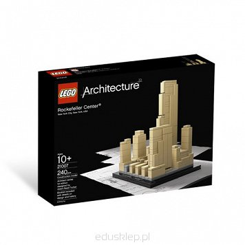 Lego Architecture Rockefeller Center