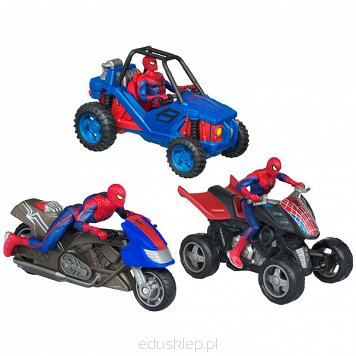 Spiderman Film. Pojazdy Zoom & Go Hasbro