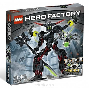 Lego Hero Black Phantom