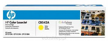 Toner HP CB542A yellow.