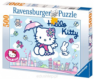 Puzzle 500 Elementów Hello Kitty Ravensburger