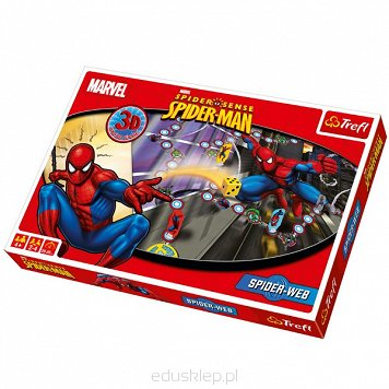 Gra Spiderman 3D Trefl