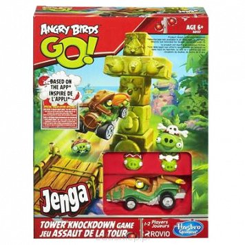 Gra Ab Go Tower Knockdown Hasbro