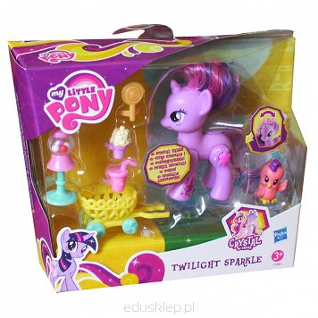 My Little Pony Twilight Sparkle z Wózkiem Hasbro