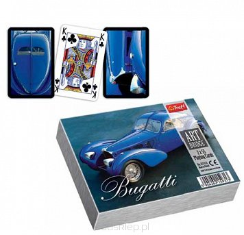 Karty Art Bridge Bugatti 3000 Trefl