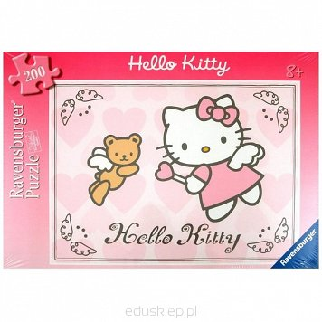 Puzzle 200 Elementów XXL Hello Kitty Ravensburger