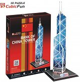 Puzzle 3D Budynek Bank Of China Cubicfun