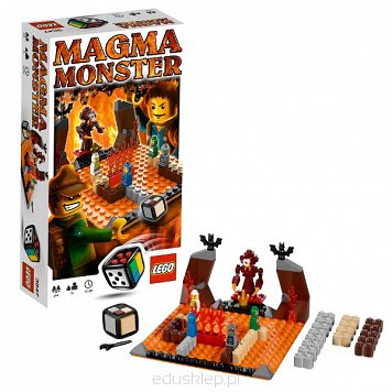 Lego Gra Magma Monster