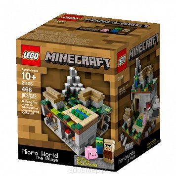Lego Minecraft Micro World Wieś
