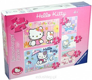 Puzzle 5 w 1 Hello Kitty Ravensburger