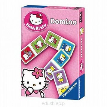 Gra Domino Hello Kitty Ravensburger