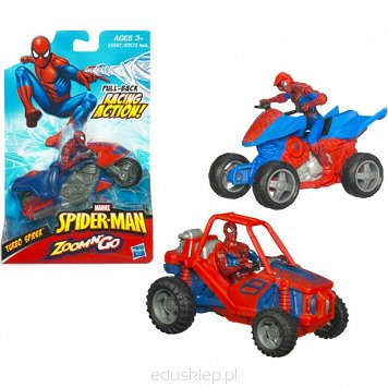 Spiderman Pojazdy Zoom & Go Hasbro