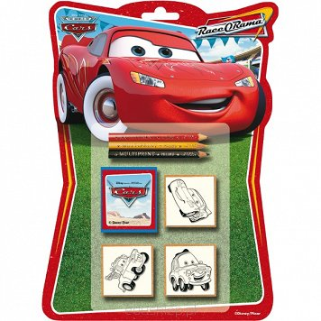 Pieczątki Shaped Cars 3 sztuki Multiprint