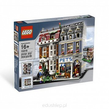 Lego Modular Houses Pets Shop