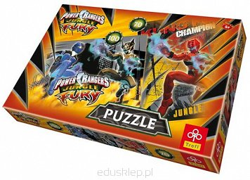 Puzzle 70,100 Elementów Mix Power Rangers Trefl