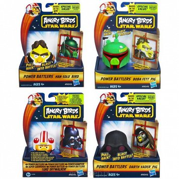 Sw Angry Birds Power Battlers Hasbro