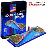 Puzzle 3D Golden Gate Bridge Cubicfun