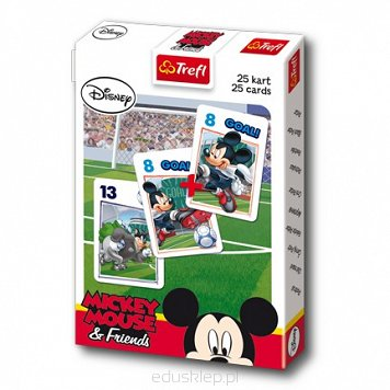 Karty Piotruś Mickey Football Trefl