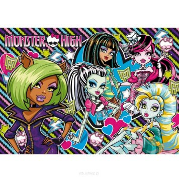 Puzzle 104 Elementów Monster High Clementoni