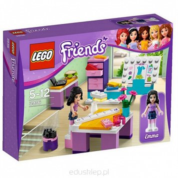 Lego Friends Studio Projektowe Emmy